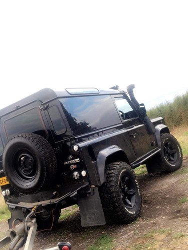 land rover defender 5%