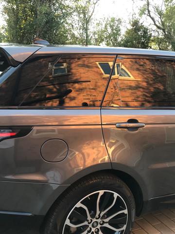 range rover window tint