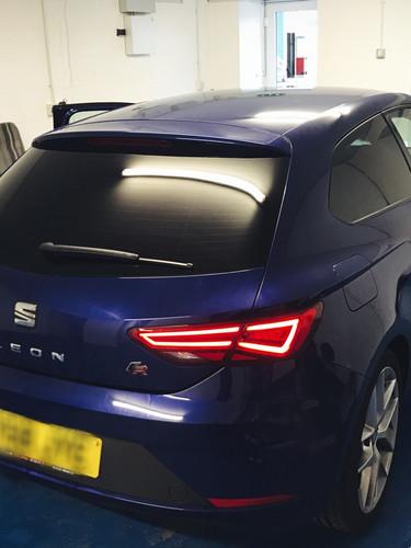 seat window tint