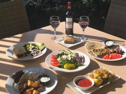 Cane Table Greek