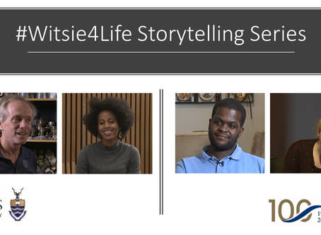 #Witsie4Life Storytelling Series      Pride & Purpose