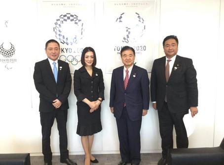東京オリンピック・パラリンピック競技大会 組織委員会 表敬訪問