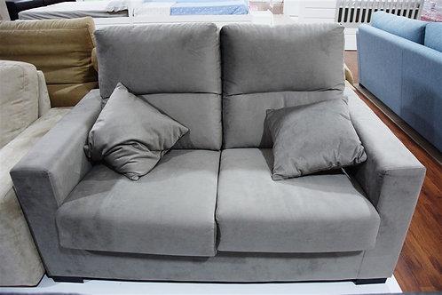 Sofa terciopelo gris