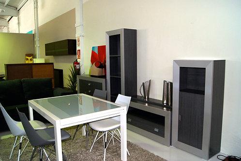 Mueble comedor gris