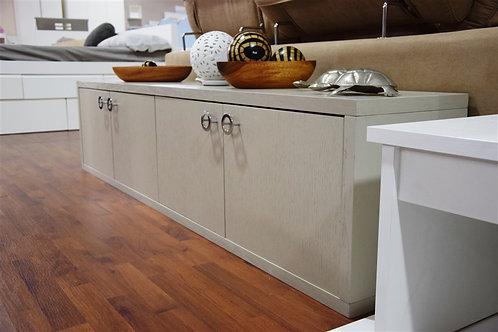Mueble bajo gris