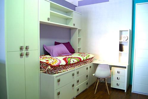 Espacio habitación Juvenil
