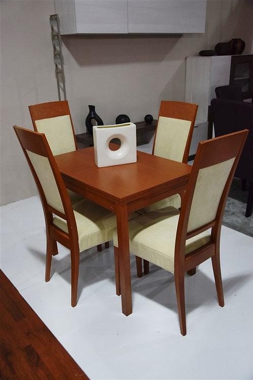 Mesa cerezo y sillas