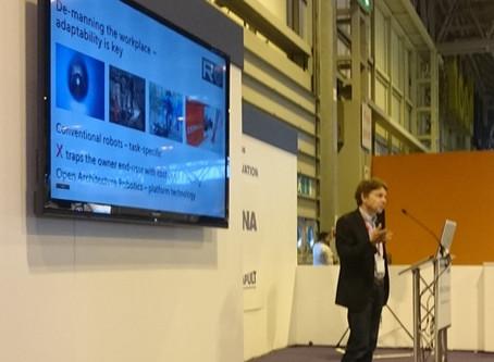 Ross Robotics – Showcase Exhibitor at Advanced Engineering – Birmingham NEC
