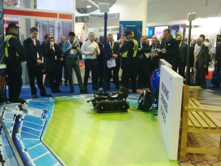 Ross Robotics Demonstrate at UK Security Expo 2016