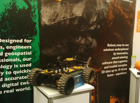 GeoSLAM invited Ross Robotics to show the EXTRM SC2.0 robot platform at Geobusiness 2017
