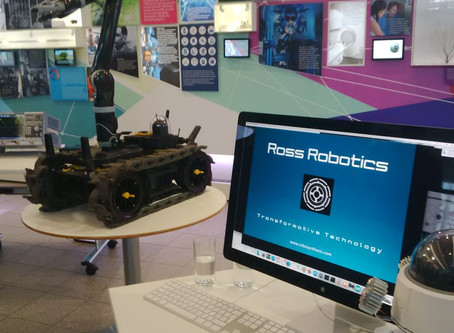 Ross Robotics at the National Physics Laboratory Open Day