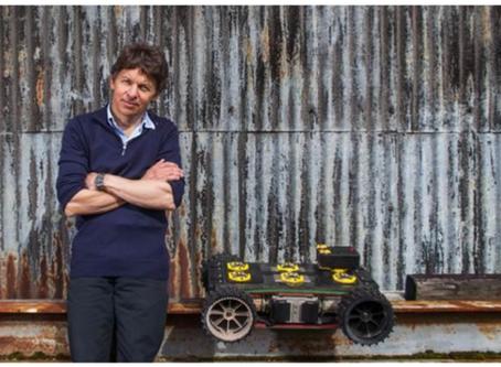 Ross Robotics founder Philip Norman uses Siemens Solid Edge