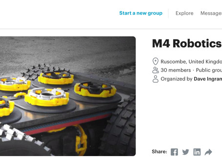 M4 Robotics Meet-up - London, Reading, Basingstoke, and surrounds