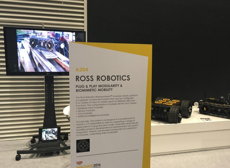 Ross Robotics at Innovate 2016, Manchester Central