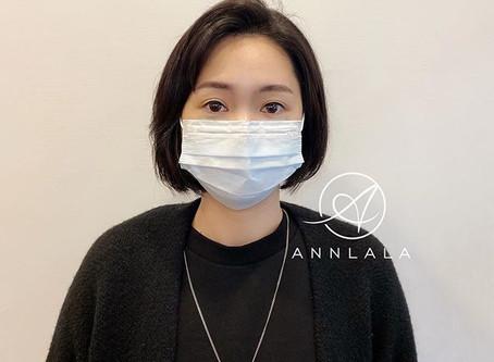 [紋繡]顧客實作分享韓系自然眼線—給你有神明亮的雙眼/半永久彩妝/永和/板橋