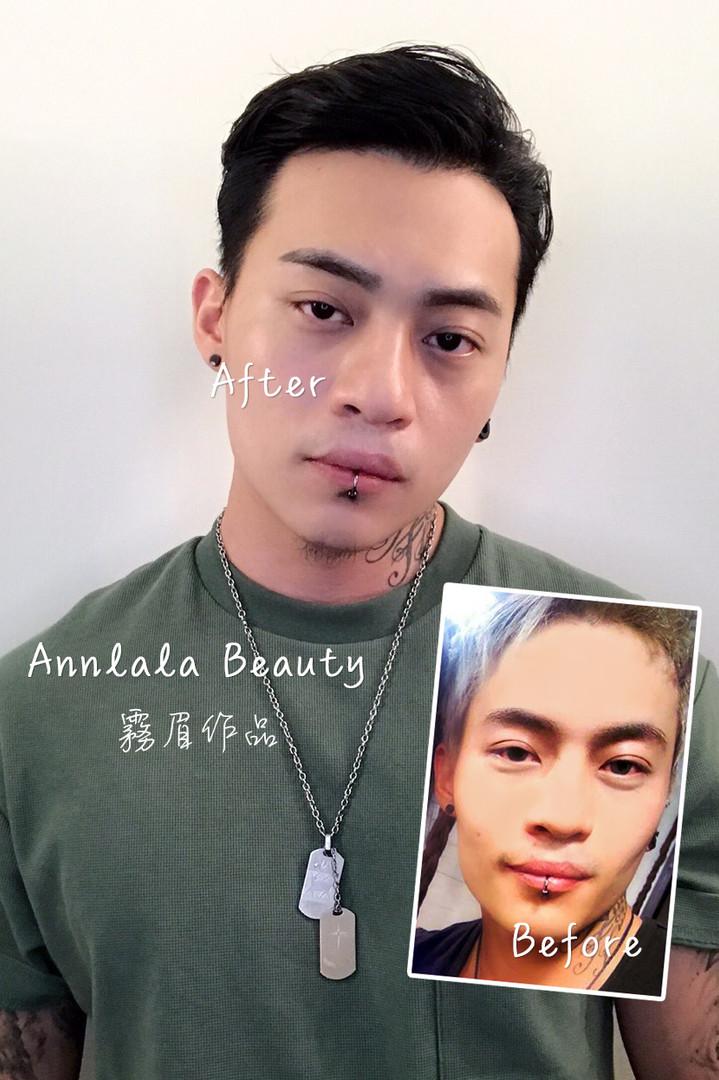 Annlala Beauty 男士作品