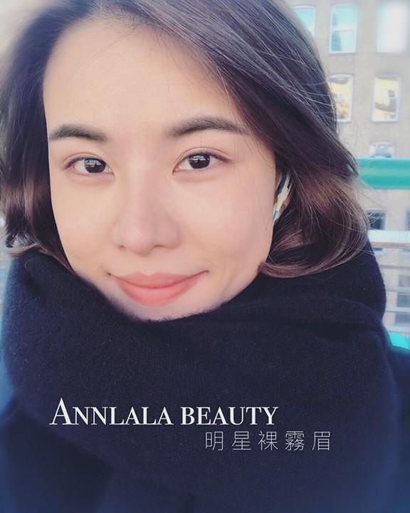 感謝美女客人人在國外還願意與我們分享眉毛修富後的照片喔♥️ 設計師:小夢老師