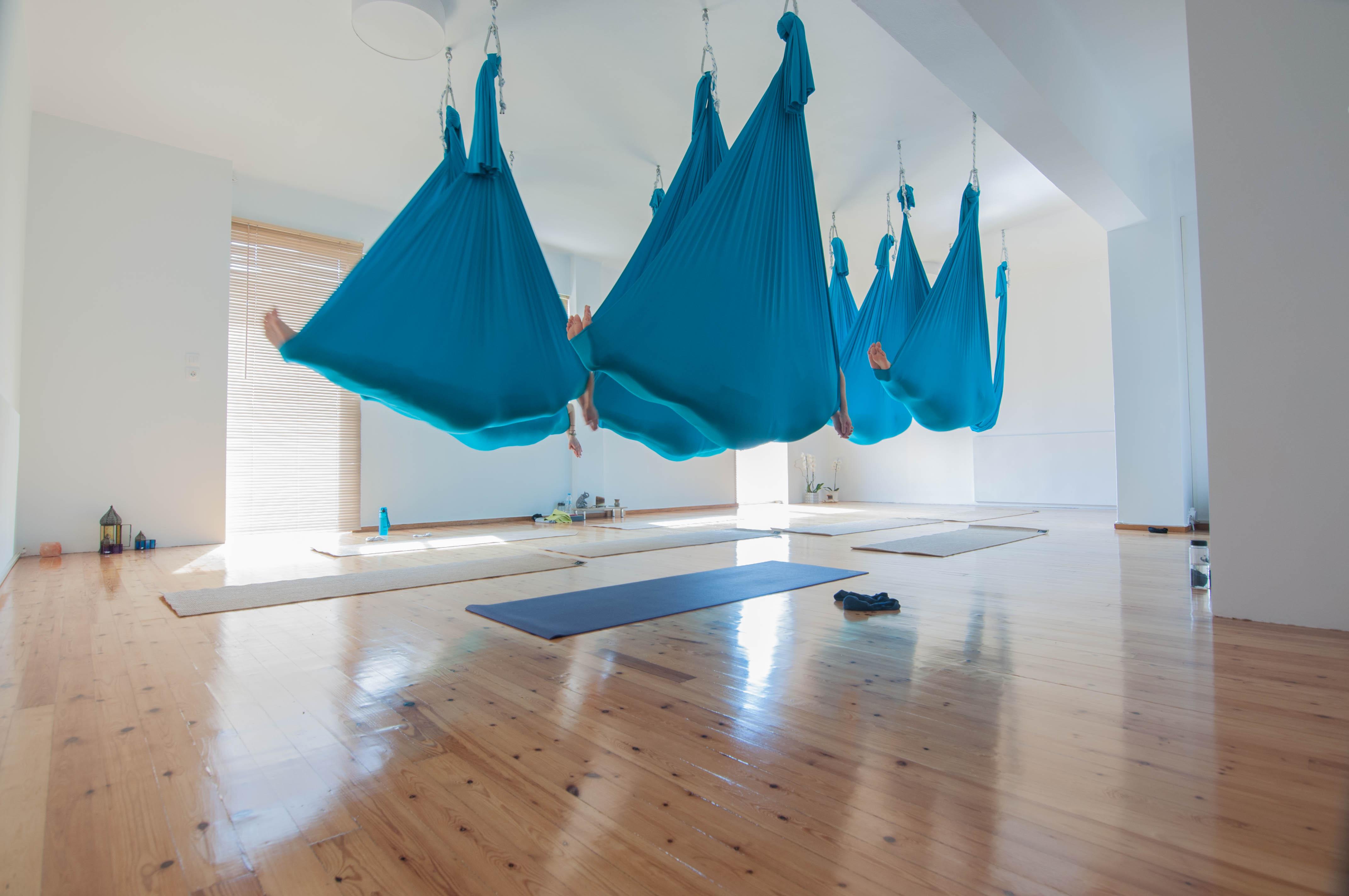 Sankalpa Aerial Flow Yoga Peristeri