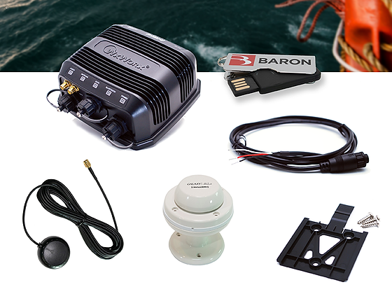 Marine BlueTooth Receiver Bundle