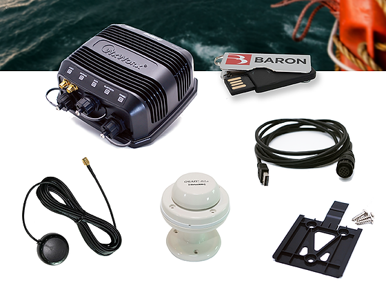 Marine USB Receiver Bundle