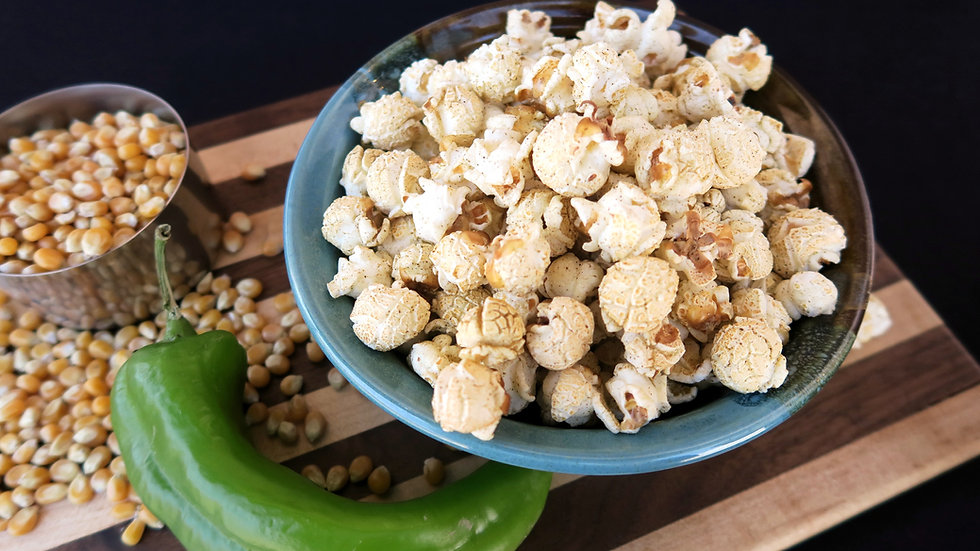 Green Chile Popcorn