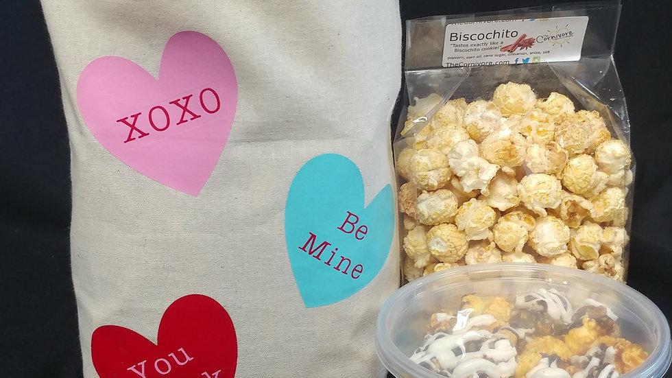 Valentine's Corn Sack