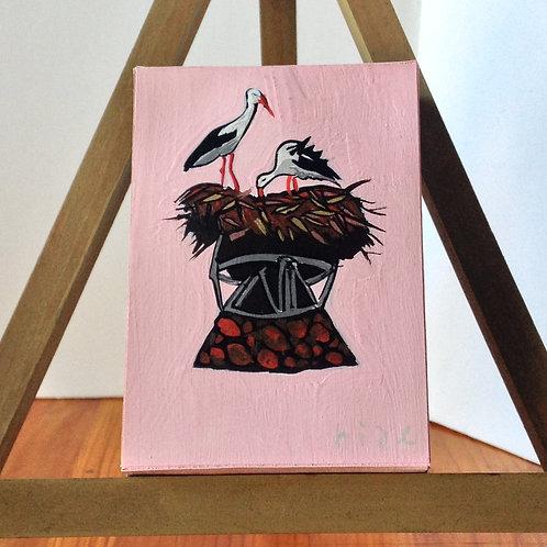 鳥の巣/ Nid d'oiseau