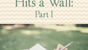 What to do when Your Plot Hits a Wall: Part 1