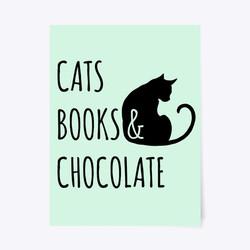 BooksChocolate_cats