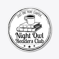 NightOwlReadersSticker