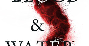 Cover Reveal: Blood and Water by Briana Morgan