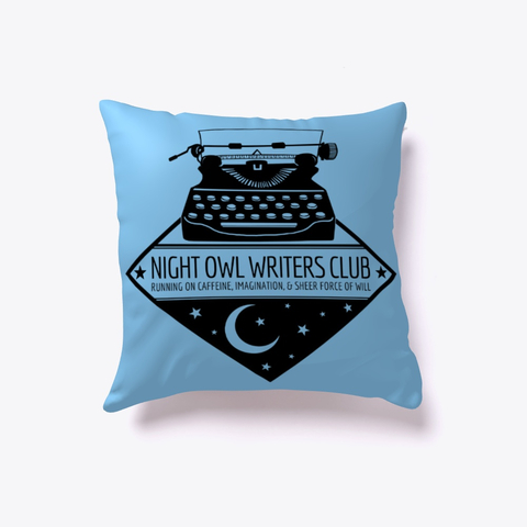 NightOwlWritersPillow