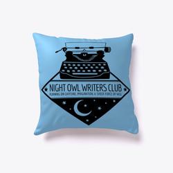 NightOwlWritersPillow