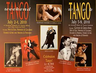 Nora's tango week 2010.