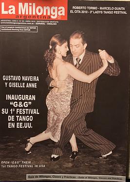 Gustavo y Giselle-tapa La Milonga