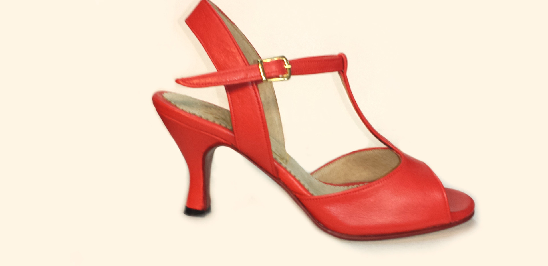 G&G Woman Red Leather