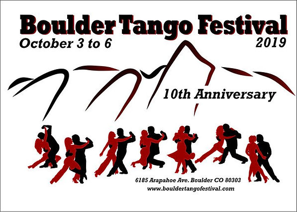 at Boulder Tango Studio- October 3 to 6,