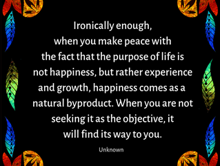 Shifting Perspective to Be Happy