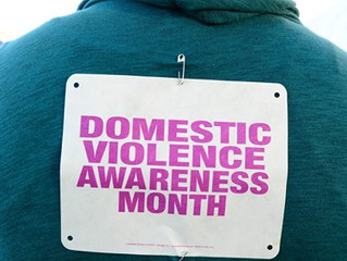 Domestic Violence Awareness Month #1Thing