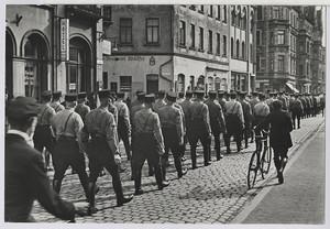 18.02 Anmarsch in der Nikolaistrasse