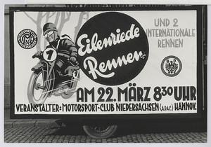 """23.01 Plakat """"Eilenriede-Rennen"""""""