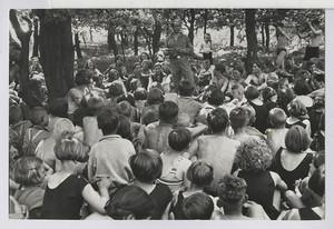 14.43 Lagerversammlung (Lagerleiter Willi Henkel)