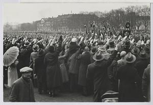 19.01 Demonstration, vom Waterlooplatz ausgehend