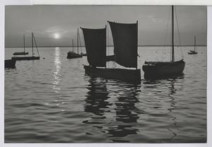 24.01 Fischerboot von Steinhude am Abend
