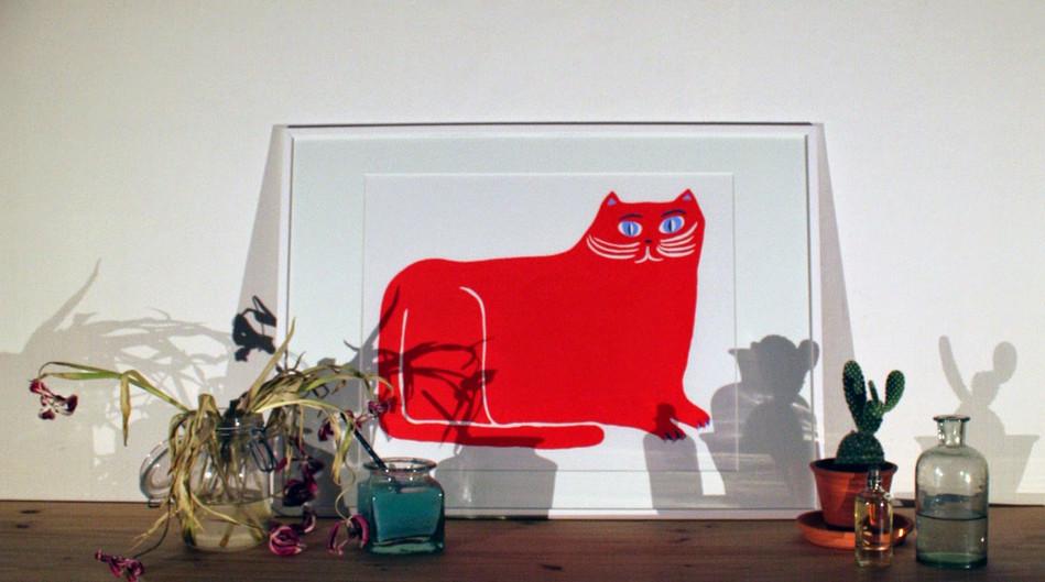 Röda katten