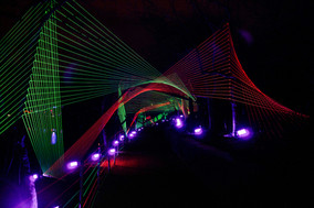 Neon Strings by Culture Creative. Lightscape 2020.