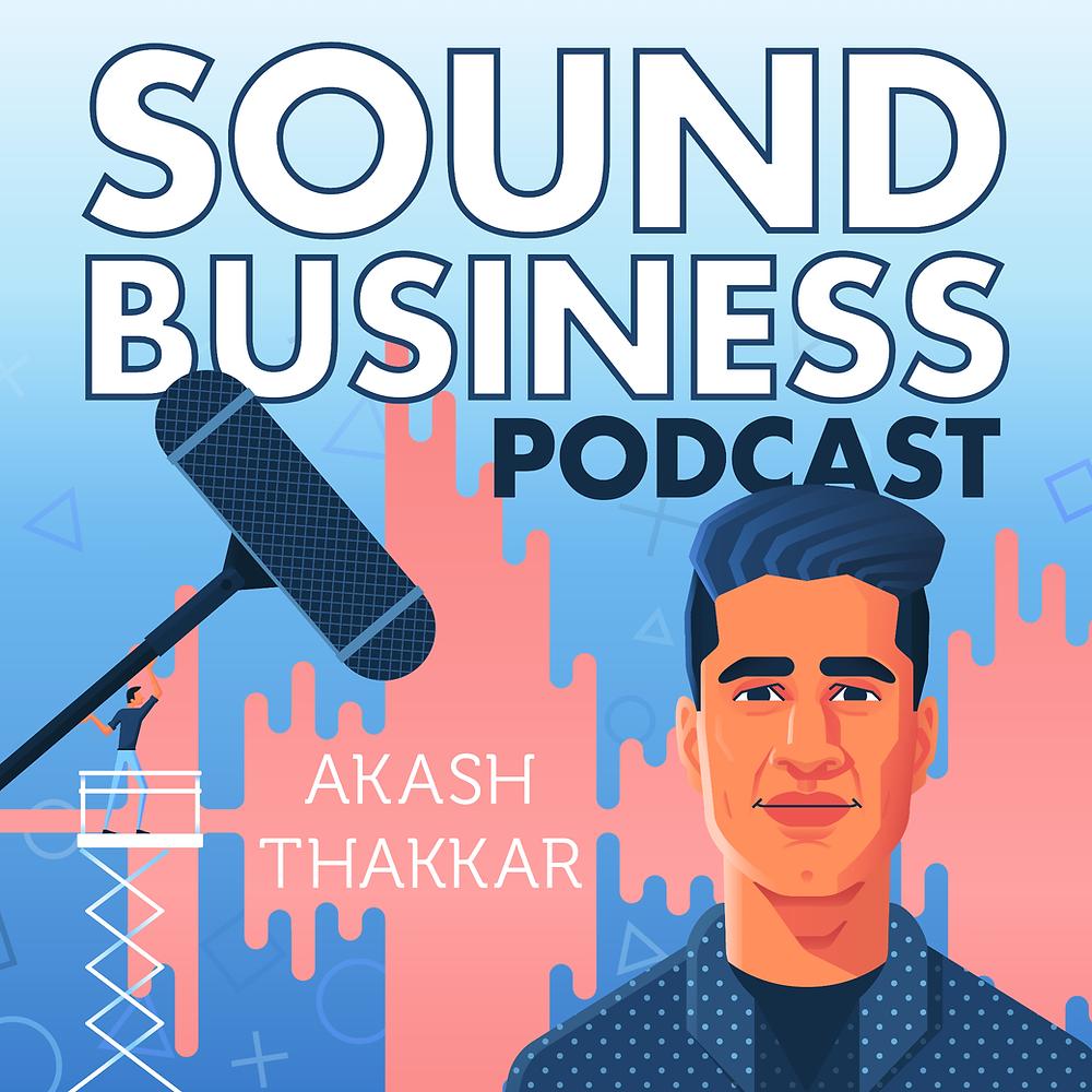 Sound Business Podcast Logo