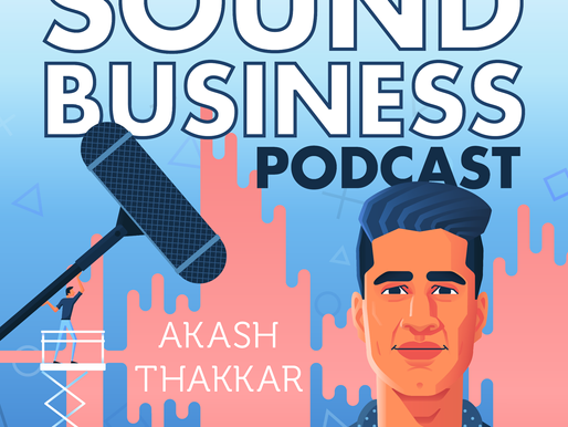 Announcing: The Sound Business Podcast!