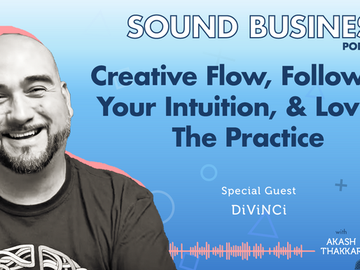 Creative Flow, Following Your Intuition & Loving the Practice with DiViNCi