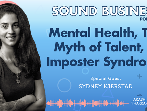 Mental Health, the Myth of Talent, and Impostor Syndrome with Sydney Kjerstad of Smart Game Piano